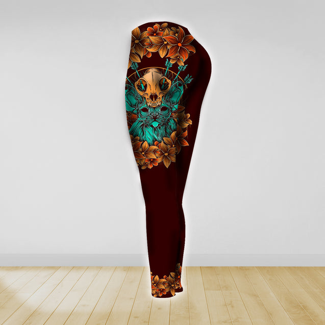 COMBO TANK TOP & LEGGINGS OUTFIT FOR WOMEN TATTOO TA003R3