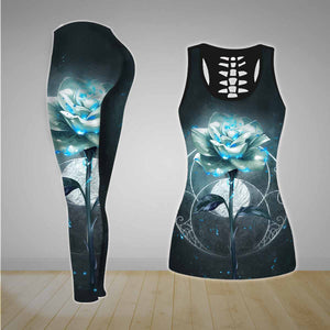 COMBO TANK TOP & LEGGINGS OUTFIT FOR WOMEN TATTOO TA003SN