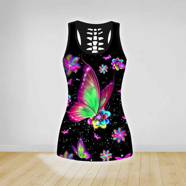 COMBO TANK TOP & LEGGINGS OUTFIT FOR WOMEN TATTOO TA003SW