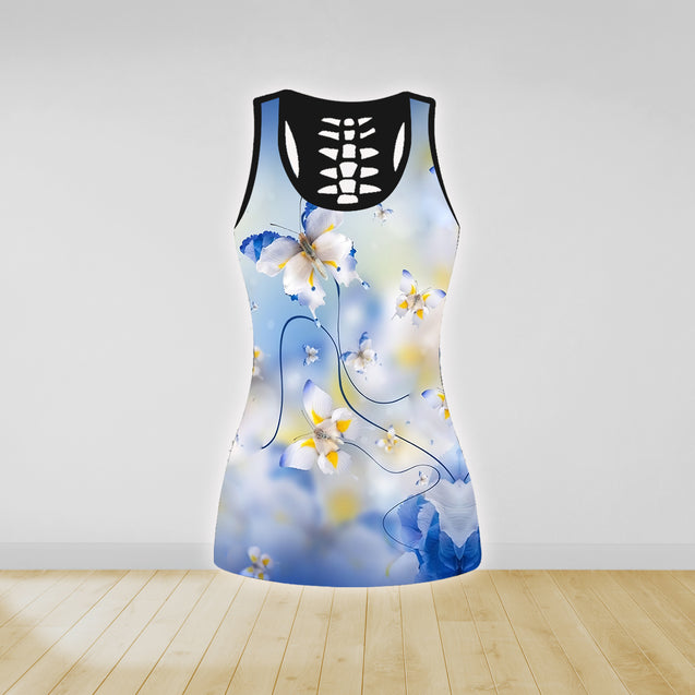 COMBO TANK TOP & LEGGINGS OUTFIT FOR WOMEN TATTOO TA003SX