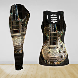 COMBO GUITAR TANK TOP & LEGGINGS OUTFIT FOR WOMEN TA00409