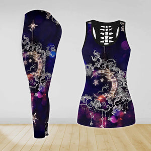 COMBO TANK TOP & LEGGINGS OUTFIT FOR WOMEN TATTOO TA004FP