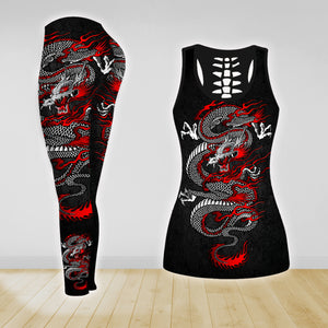 COMBO TANK TOP & LEGGINGS OUTFIT FOR WOMEN TATTOO TA0066UTTD