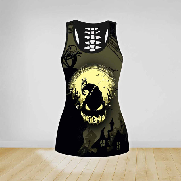 COMBO NIGHTMARE TANKTOP & LEGGINGS OUTFIT FOR WOMEN TA0068PTTD