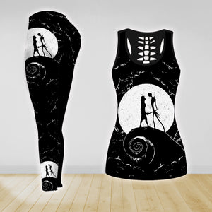 COMBO NIGHTMARE TANKTOP & LEGGINGS OUTFIT FOR WOMEN TA0068RTTD