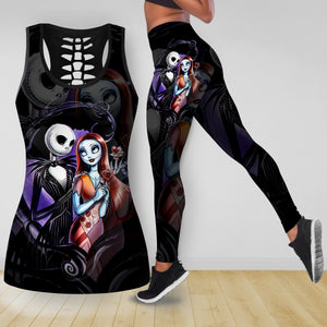 COMBO NIGHTMARE TANKTOP & LEGGINGS OUTFIT FOR WOMEN TA0069STTD