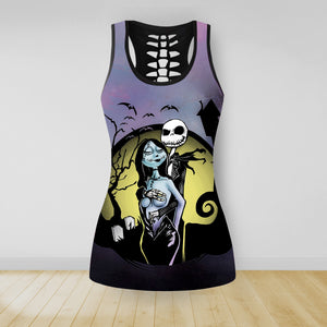 COMBO NIGHTMARE TANKTOP & LEGGINGS OUTFIT FOR WOMEN TA0069UTTD