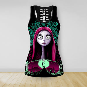 COMBO NIGHTMARE TANKTOP & LEGGINGS OUTFIT FOR WOMEN TA0069VTTD