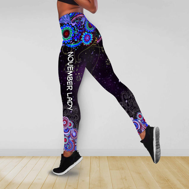 COMBO BUTTERFLY TANKTOP & LEGGINGS OUTFIT FOR WOMEN TA00EAWSON