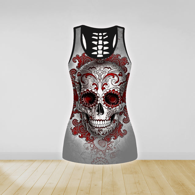 COMBO TANK TOP & LEGGINGS OUTFIT FOR WOMEN TATTOO TA04K4