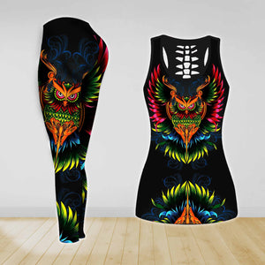 COMBO TANK TOP & LEGGINGS OUTFIT FOR WOMEN TATTOO TA04K9