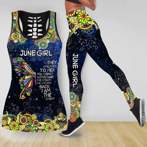 COMBO BUTTERFLY TANKTOP & LEGGINGS OUTFIT FOR WOMEN TA05086IEH JUNE