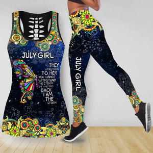 COMBO BUTTERFLY TANKTOP & LEGGINGS OUTFIT FOR WOMEN TA05087IEH JULY