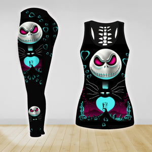 COMBO THE NIGHTMARE TANKTOP & LEGGINGS OUTFIT FOR WOMEN TA067DIEH