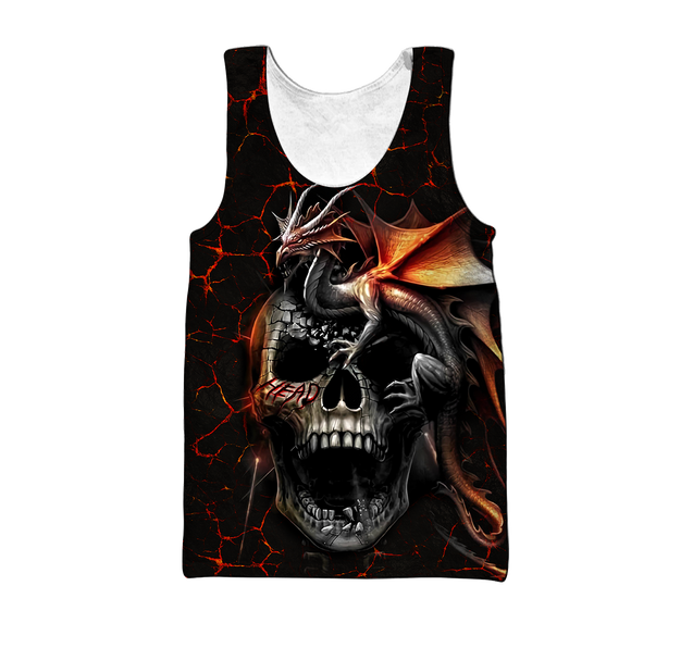 Skull Dragon 3D Cloth HD06AQIEH