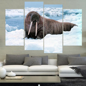 Wild Animals Canvas A01B217
