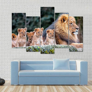 Wild Animals Canvas A01B22122