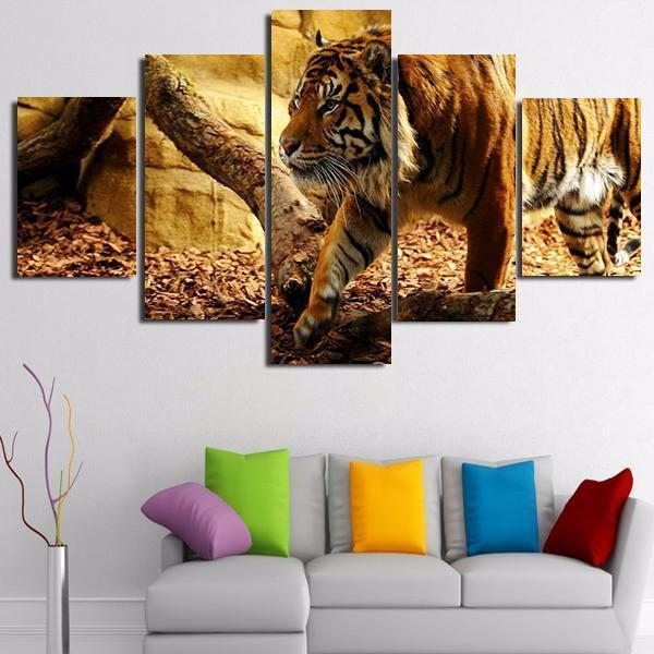 Wild Animals Canvas A01B22124