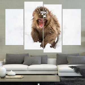 Wild Animals Canvas A01217