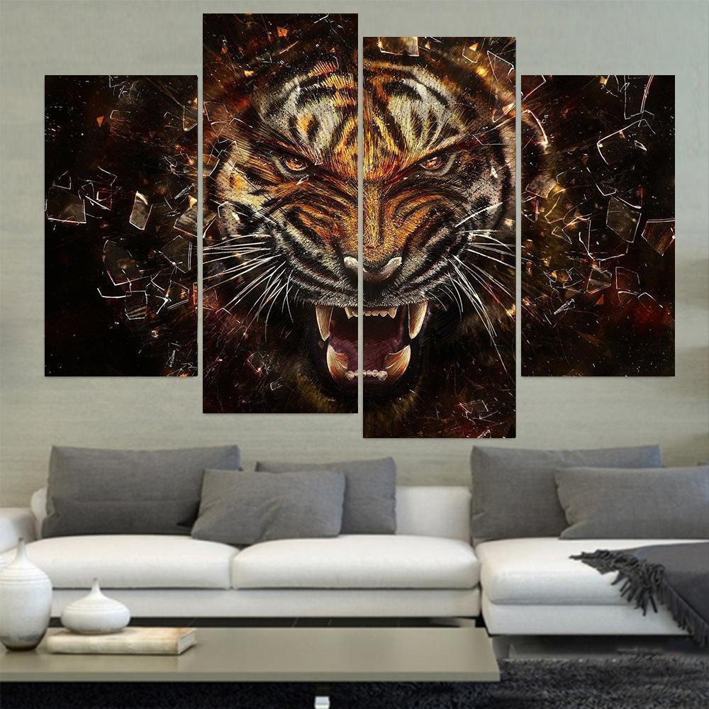 Wild Tiger Canvas