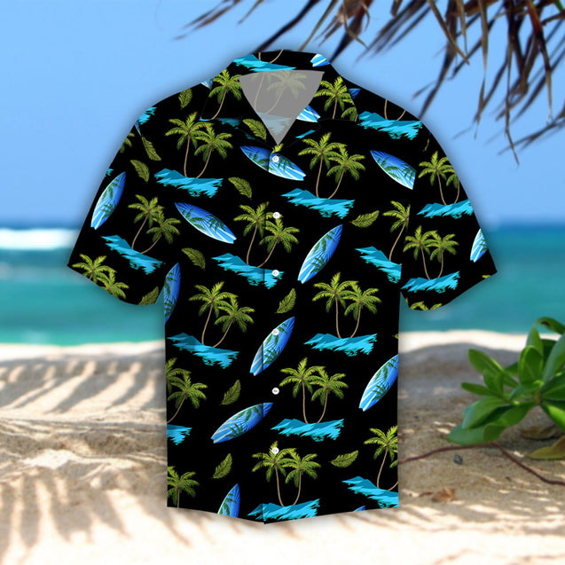 COCONUT ISLAND HIBICUS TROPICAL HAWAII SHIRTS S006N1TTD