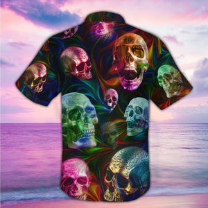 SKULL HAWAII SHIRTS S0073XSON