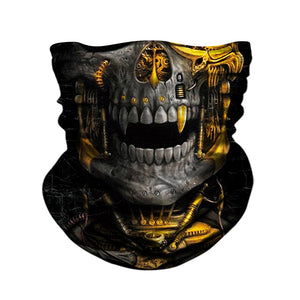 SKULL FACE MOTORCYCLE MASK FM003R8