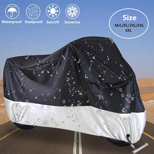 New Arrival Waterproof Motorcycle Cover Outdoor Uv Protector