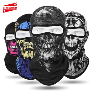 SKULL FACE MOTORCYCLE MASK FM003R9