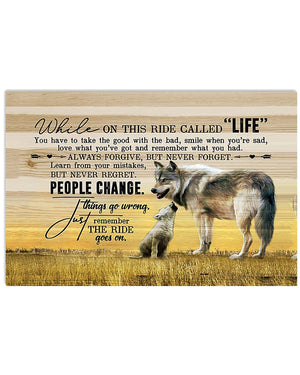 Wolf Quotes Poster CP2009103PTX
