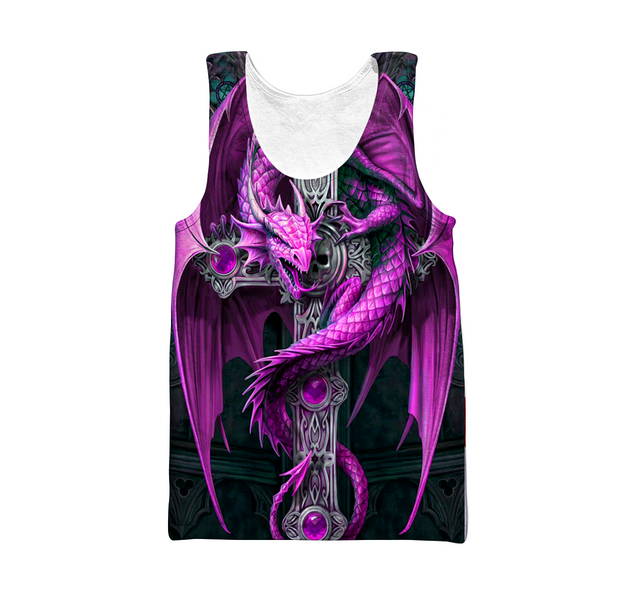 3D All Over Print Dragon Hoodie
