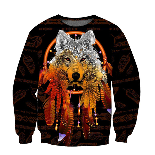 WOLF NATIVE 3D APPARELS H00ED1SON