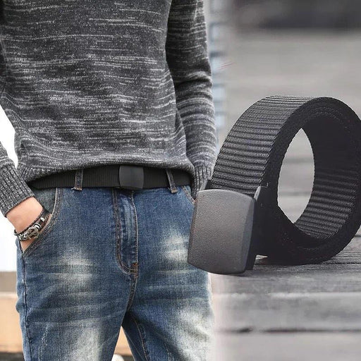 mens belt for jeans for airport