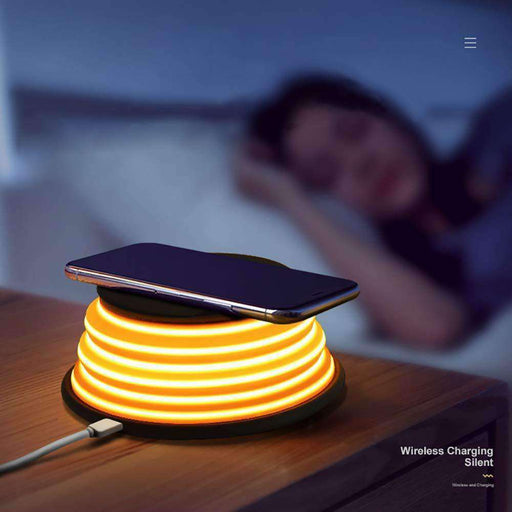Wireless Charging Stand Led Light