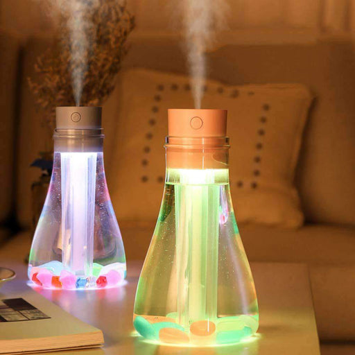 Humidifier With Led Light Bottle