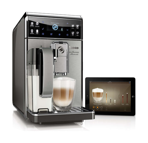 Philips Saeco GranBaristo Avanti Super-Automatic Espresso Machine (HD8977/01) – Black / Silver