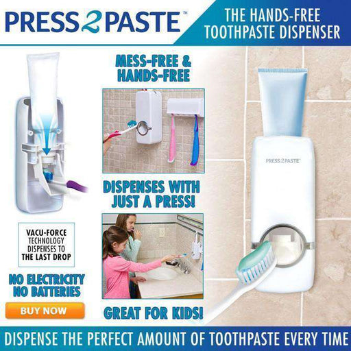 Toothpaste Dispenser - Mahhalcom
