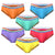 ROUNDERBUM RETRO PRIDE LIFT BRIEF 6PACK