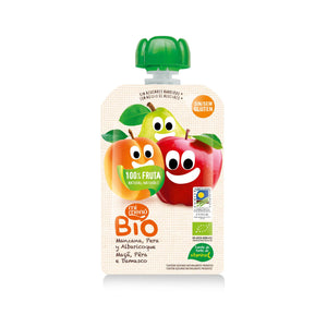 MiMenu Organic Gluten Free Baby Fruit (Apple, Pear & Apricot) 100g - Absoluxe Hong Kong