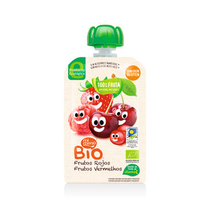MiMenu Organic Gluten Free Red Baby Fruits (Strawberry, Cherry & Raspberry) 100g - Absoluxe Hong Kong