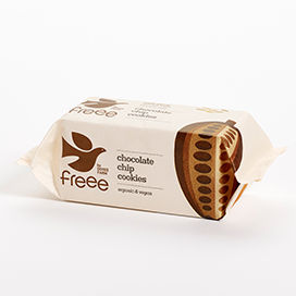 Freee by Doves Farm Organic Gluten Free Chocolate Chip Cookies 180g - Absoluxe Hong Kong
