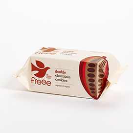 Freee by Doves Farm Organic Gluten Free Double Chocolate Cookies 180g - Absoluxe Hong Kong