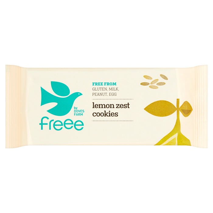 Freee by Doves Farm Organic Gluten Free Lemon Zest Cookies 150g