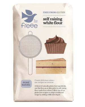 Freee by Doves Farm Gluten Free Self Raising White Flour 1Kg - Absoluxe Hong Kong