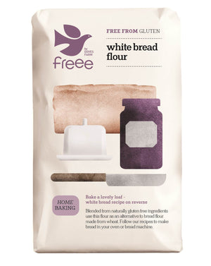Freee by Doves Farm Gluten Free White Bread Flour 1Kg - Absoluxe Hong Kong