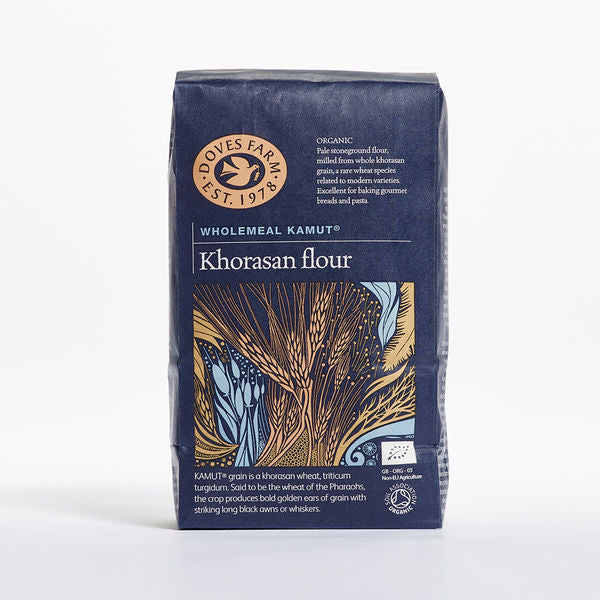 Doves Farm Organic Kamut Khorasan Wholemeal Stoneground Flour 1Kg - Asiaboxx Foods | Hong Kong