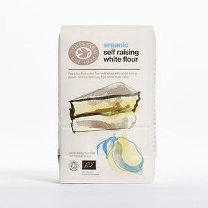Doves Farm Organic Self Raising White Flour 1Kg - Absoluxe Hong Kong