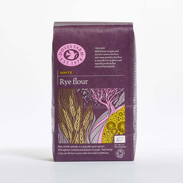 Doves Farm Organic White Rye Flour 1Kg - Asiaboxx Foods | Hong Kong