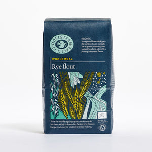 Doves Farm Organic Wholemeal Rye Flour 1Kg - Absoluxe Hong Kong