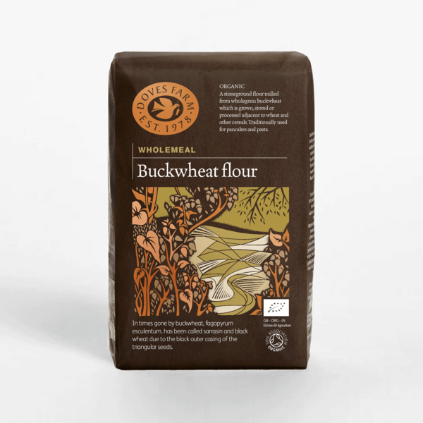 Doves Farm Organic Buckwheat Flour 1Kg (Stoneground)